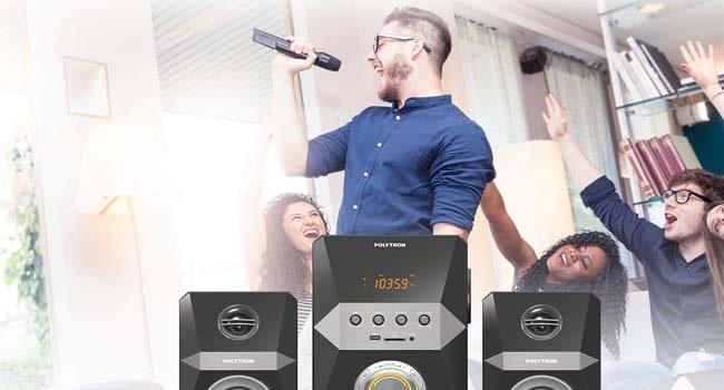cara karaoke di tv led polytron