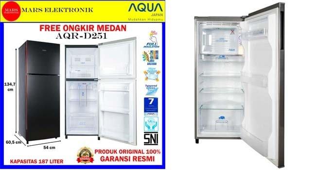 kelebihan dan kekurangan kulkas aqua