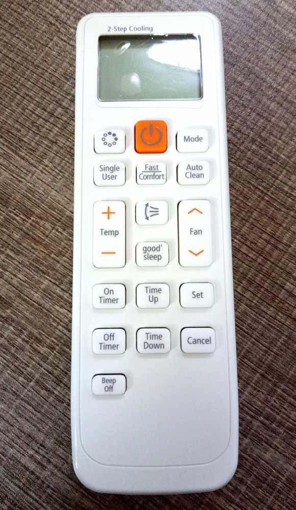 Setting Cara Merubah Suhu Fahrenheit Ke Celcius di Remote AC Samsung