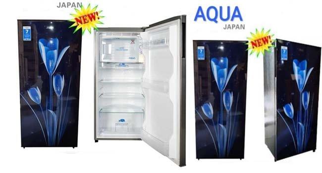 review kulkas aqua aqr d181